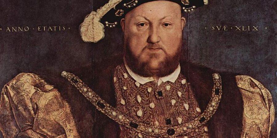 Rojen oče anglikanske cerkve, Henrik VIII.