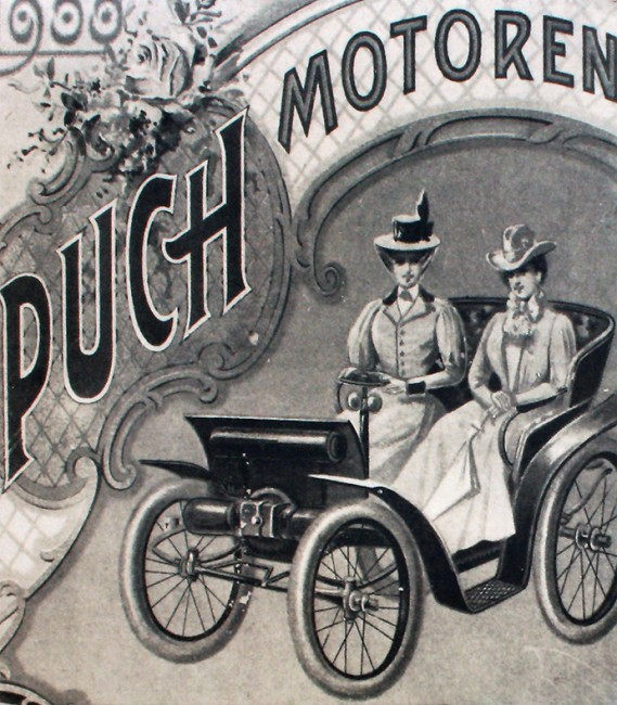 Reklamni plakat Puhove tovarne.Foto: euromobil.si