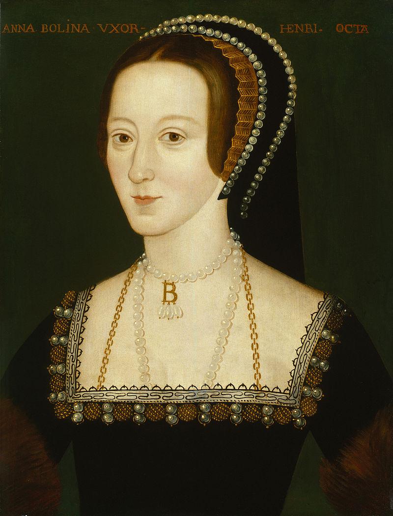 Anna Boleyn. Foto: Wikimedia