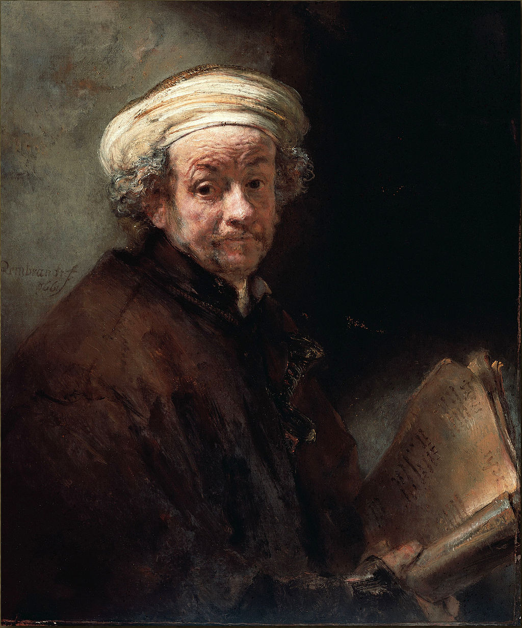 Avtoportret kot Apostol Pavel