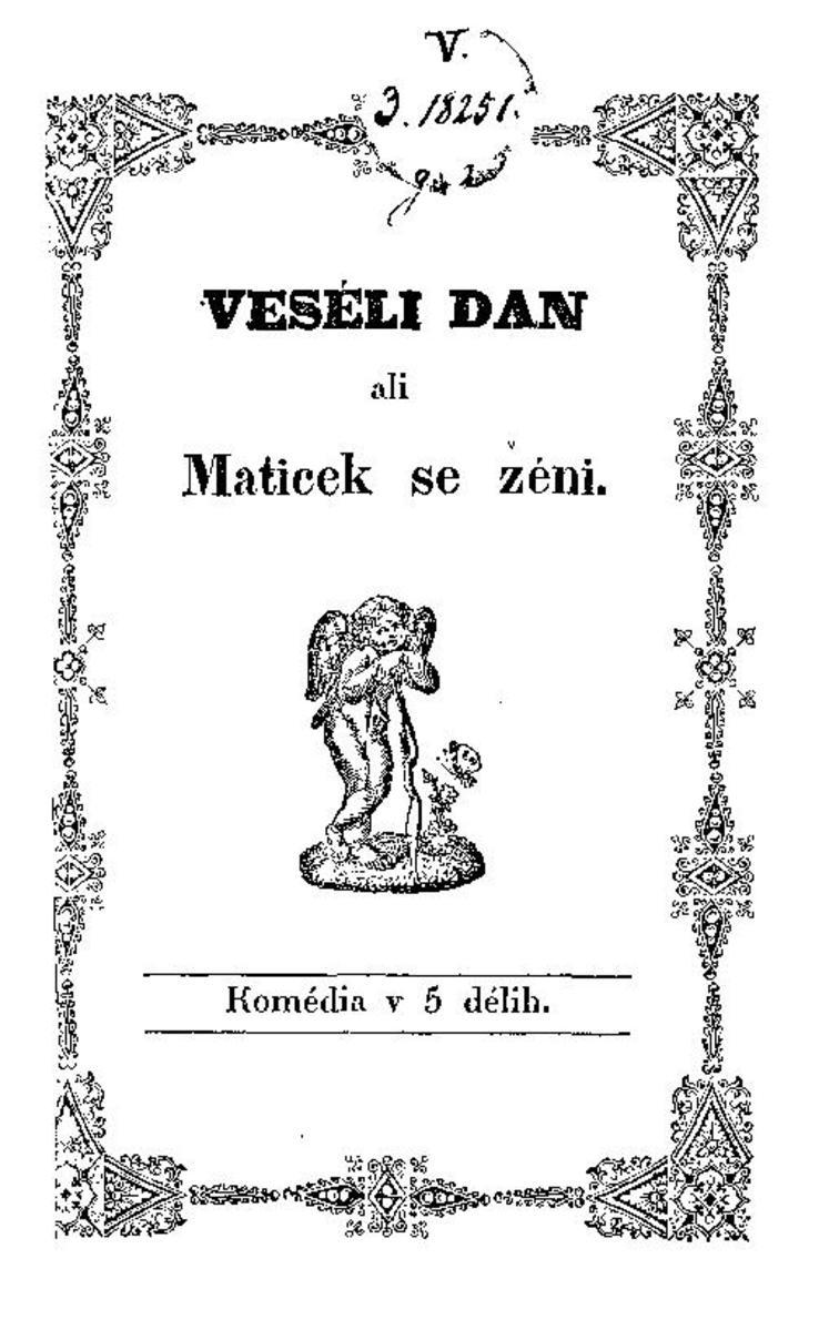 Ta veseli dan ali Matiček se ženi (1840)