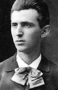 Nikola Tesla leta 1879