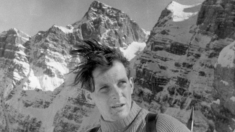 Alpinist Aleš Kunaver