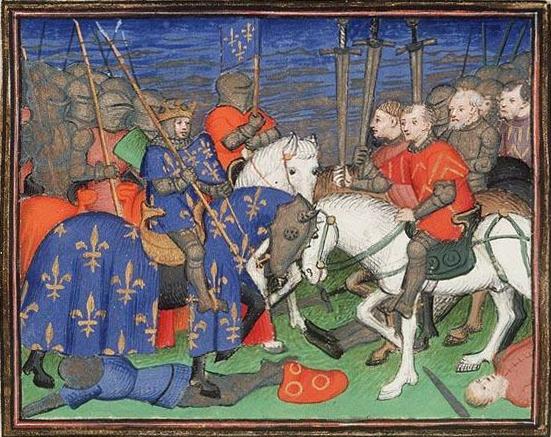 Filipova zmaga v bitki pri Bouvinu.