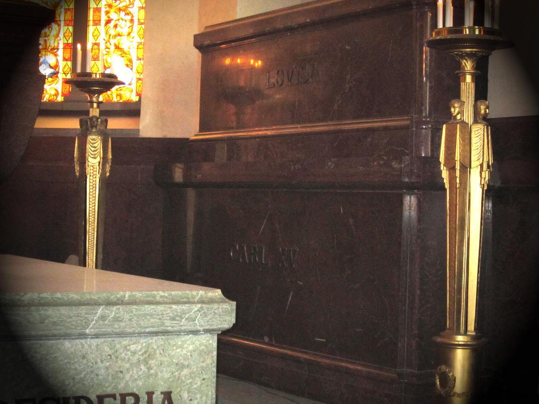 Grob kralja Karla in kraljice Ludvike v Riddarholmski cerkvi