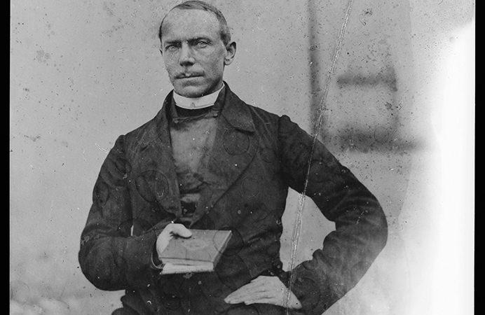 Janez Puhar, izumitelj metode fotografije na steklo