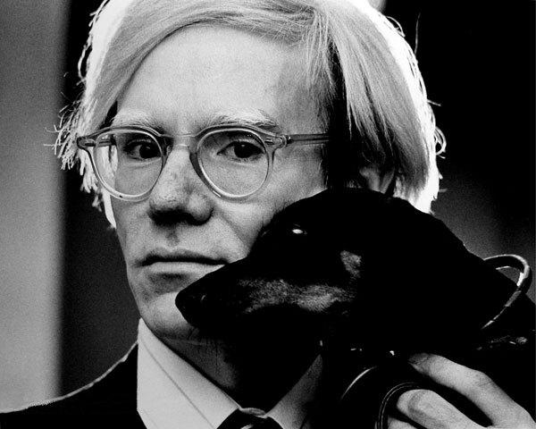 Portret Andya Warhola
