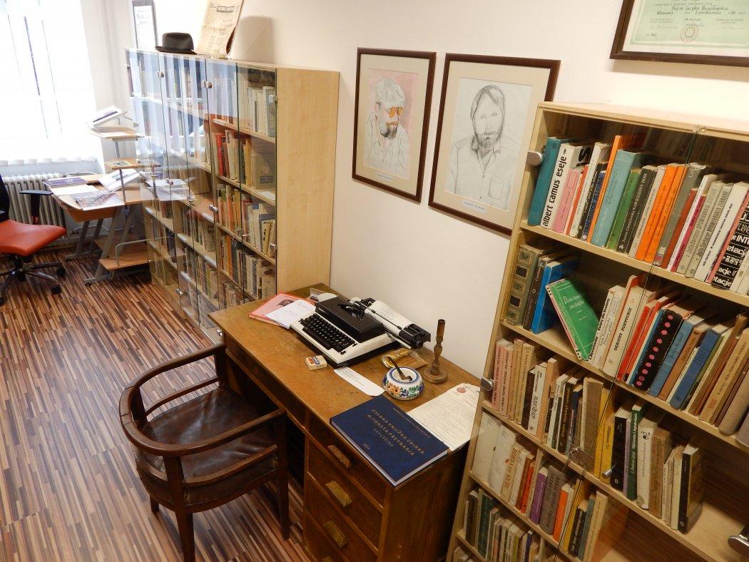 Spominska soba dr. Toneta Pretnarja v Tržiču. Foto: visit-trzic.com