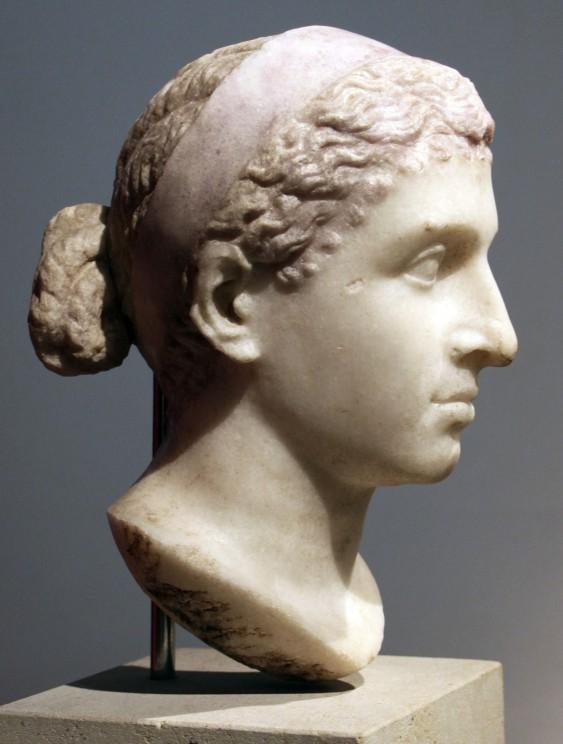 Doprsni kip Kleopatre. Foto: Wikimedia