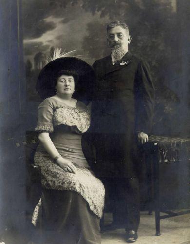 Franja in Ivan Tavčar. Foto: Wikimedia