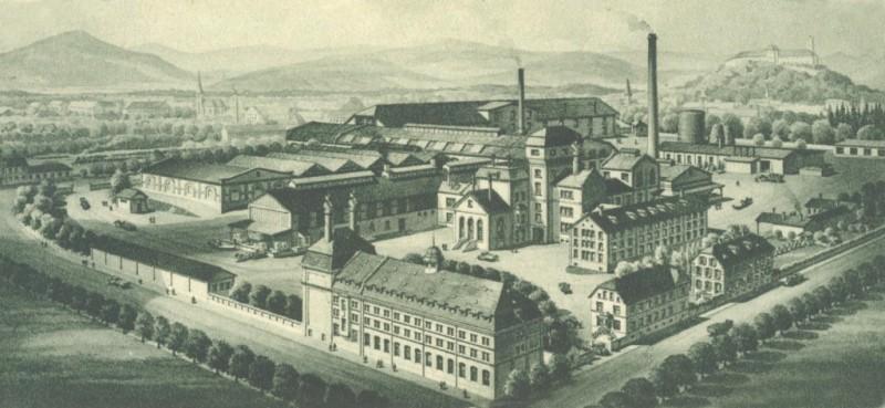 Pivovarna Union nekoč. Foto: vlaki.info