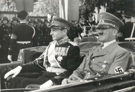 Knez Pavel s Hitlerjem.