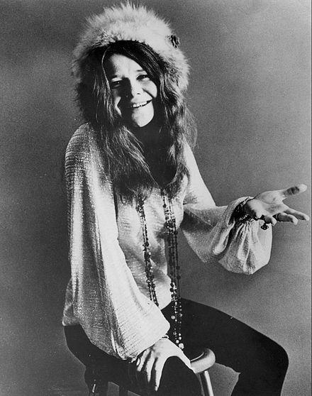 Janis Joplin leta 1969