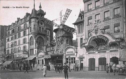 Moulin Rouge leta 1900.