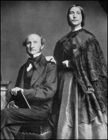 John Stuart Mill in Harriet Taylor Mill