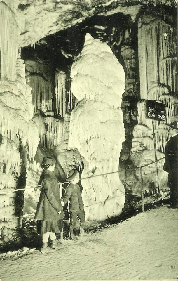 Notranjost Postojnske jame. Foto: arhiv lastnika