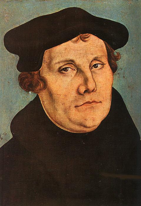 Martin Luther. Foto: Wikimedia