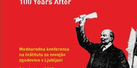Misliti o revoluciji: 100 let pozneje