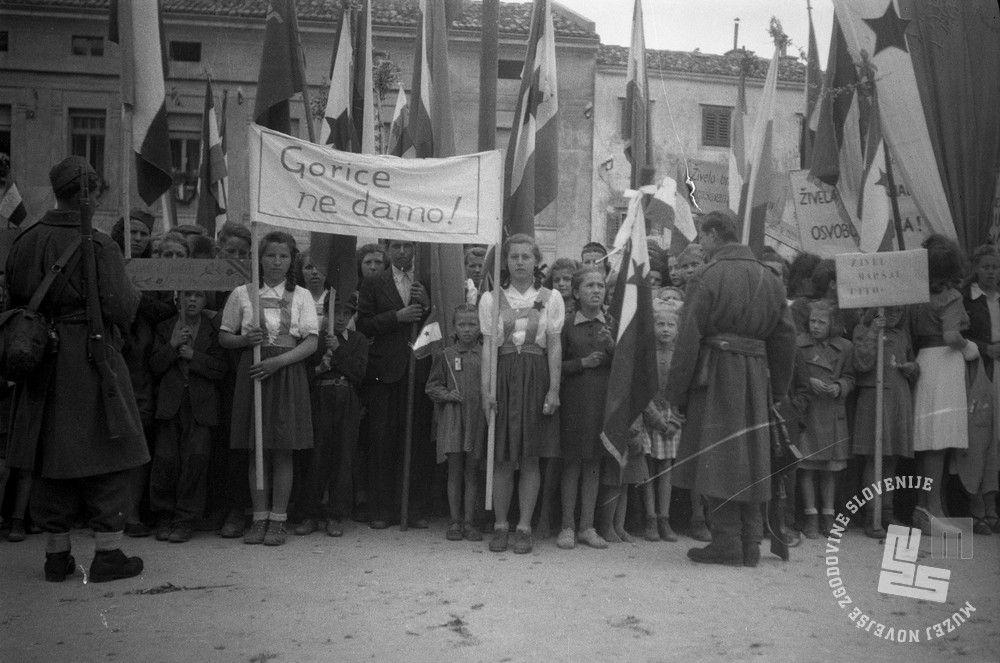 Manifestacije v Gorici (Vir: MNZ)