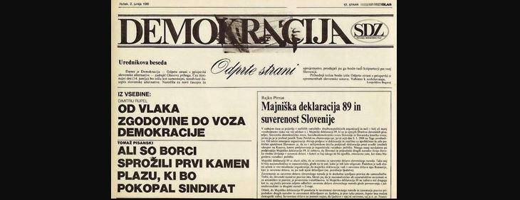 Razkroj oblasti – dolga slovenska tranzicija