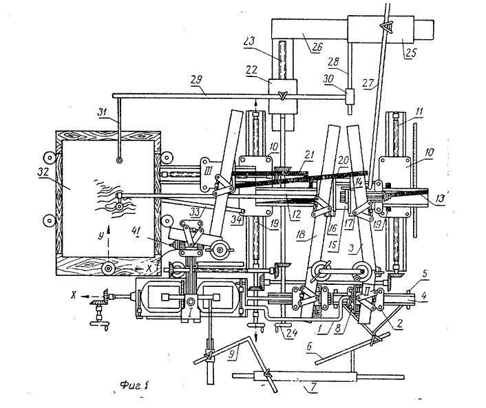 Načrt za stereoavtograf. Foto: patents.su
