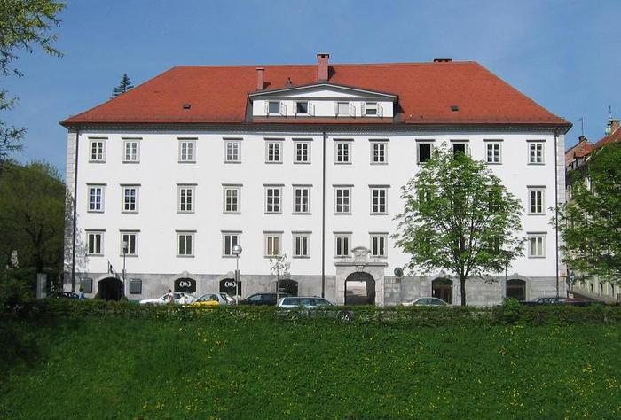 Palača Žige Zoisa na Bregu v Ljubljani. Foto: Wikimedia