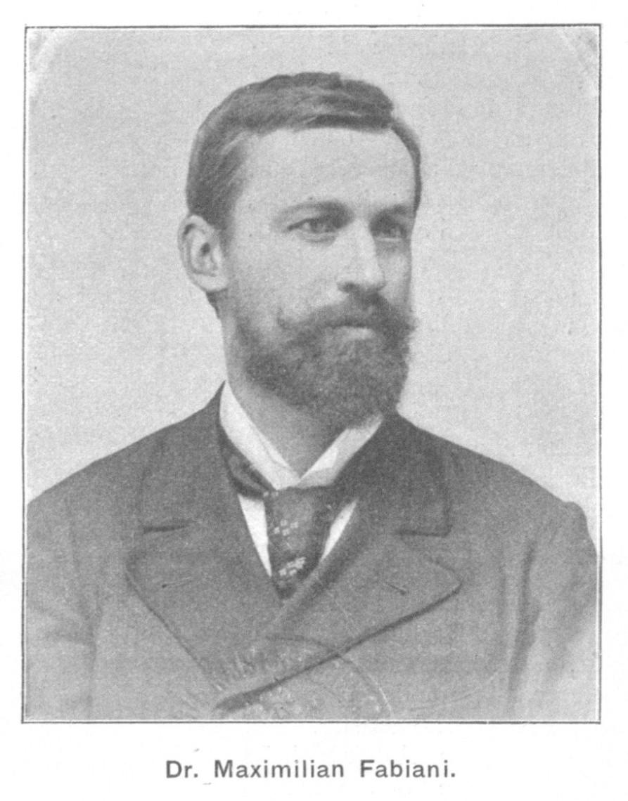 Maks Fabiani. Foto: Wikimedia