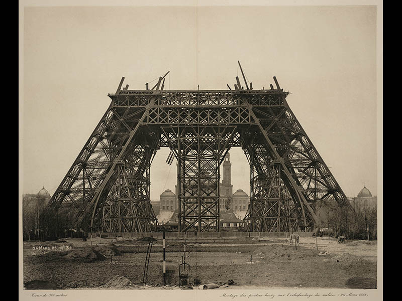 Konstrukcija Eiffelovega stolpa. Foto: lindahall.com