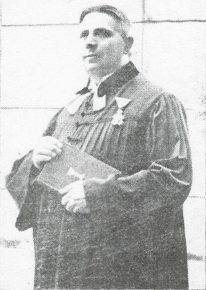 Luthar Adam. Foto: Düsevni Liszt 1938, 9. stevilka