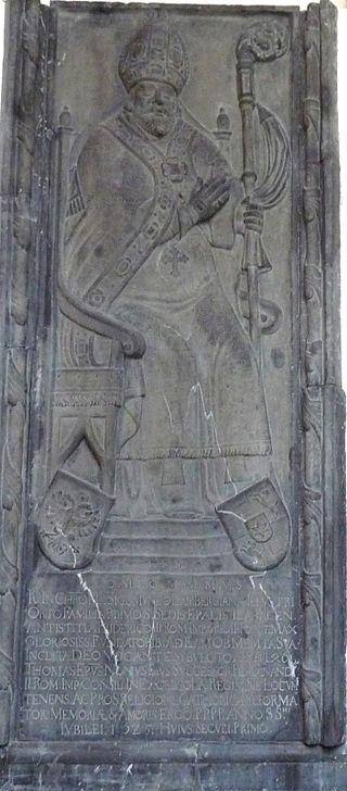 Žiga Lamberg, 1. ljubljanski škof, Gornji Grad. Foto: Miran Hladnik
