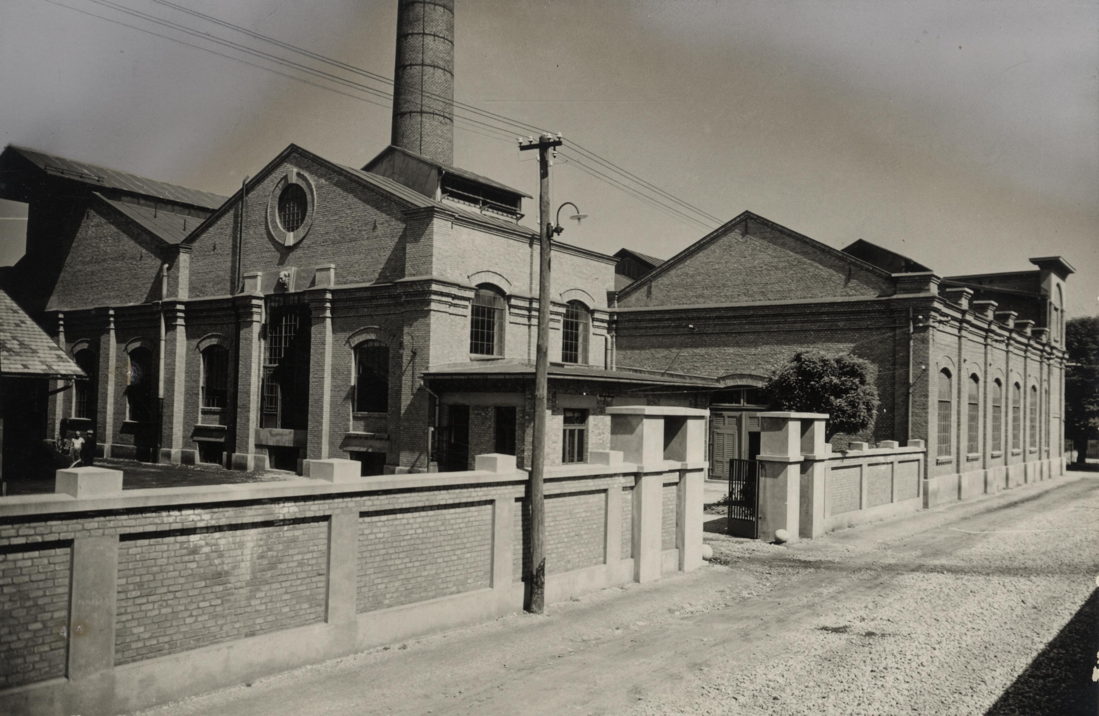 Poslopja Mestne elektrarne okoli 1930. Foto: arhiv ZAL