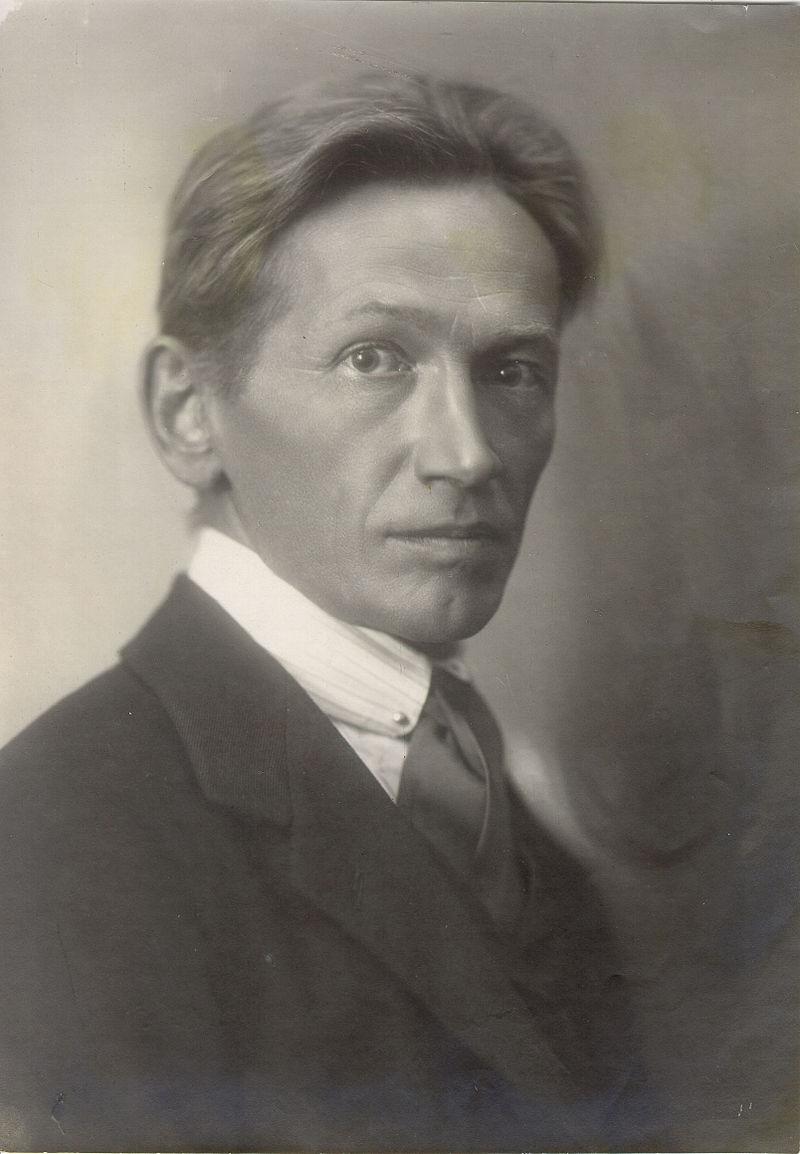 Portret Otona Župančiča. Foto: dLib