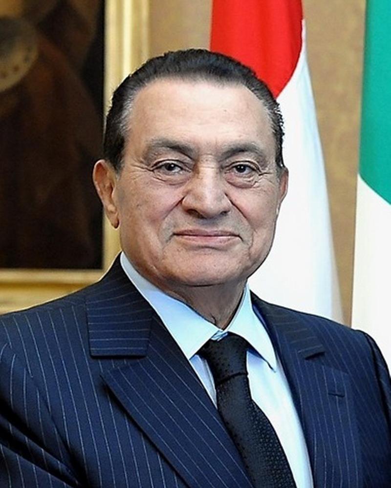 Hosni Mubarak. Foto: Presidenza della Repubblica