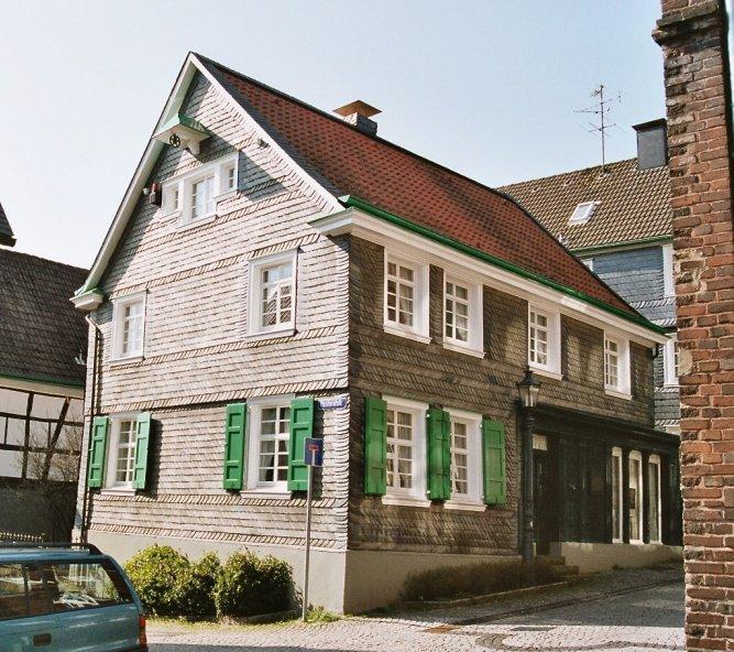 Rojstna hiša Wilhelma Conrada Röntgena. Foto: Markus Schweiss