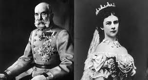 Franc Jožef in kraljica Sisi v Postojnski jami