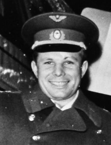 Jurij Gagarin. Foto: Wikimedia
