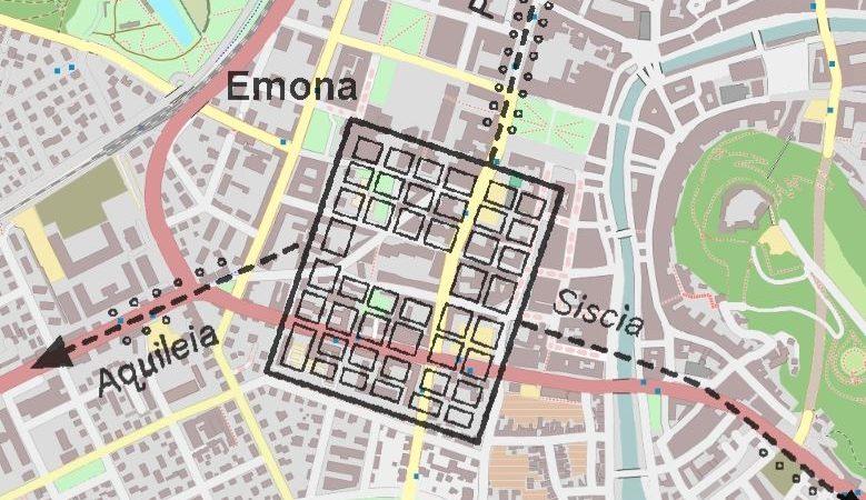 Vzpon srednjeveške Ljubljane na ruševinah Emone