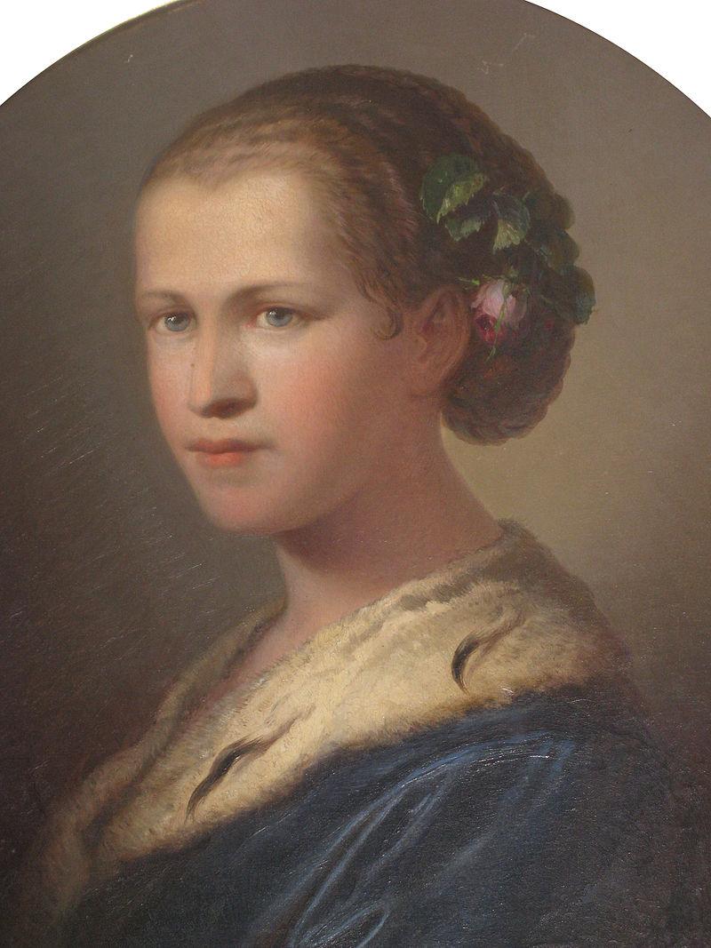 Portret Josipine Turnograjske, umetnik neznan.