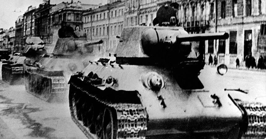 Pomanjkanje v obleganem Leningradu