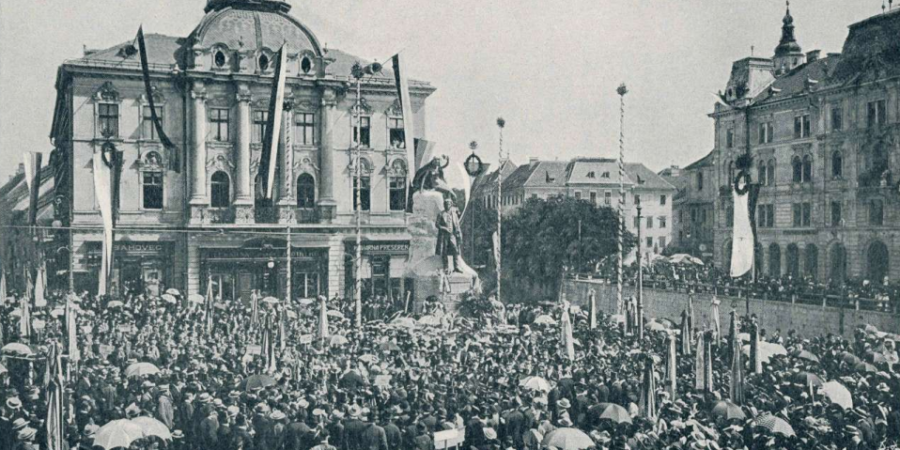 »Slava Prešernu!« Postavitev Prešernovega spomenika v Ljubljani in odzivi nanjo