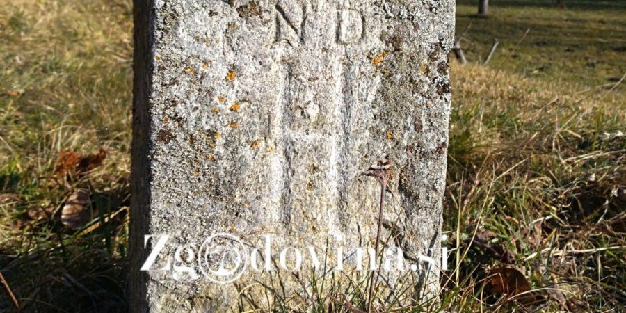 Okupacijski mejni kamni (1941–1945) na Slovenskem – še danes vidni markerji prostora