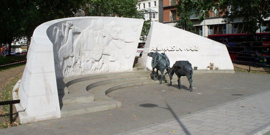 Od kamel do kanarčkov: živali v prvi svetovni vojni (1. del)