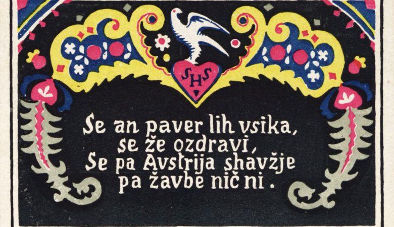 »Bom škorne nabiksov cigaro pržgav, za Jugoslavijo našo svoj glas bom oddav!« Propaganda in koroški plebiscit.
