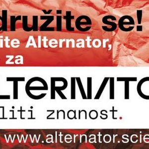 Vabilo k pisanju strokovnih prispevkov za spletni časopis o znanosti Alternator