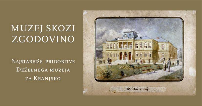 Spletni prenos odprtja razstave MUZEJ SKOZI ZGODOVINO: najstarejše pridobitve Deželnega muzeja za Kranjsko