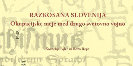 Štiri nove knjige o okupacijskih mejah na Slovenskem in življenju ob njih (1941-1945)